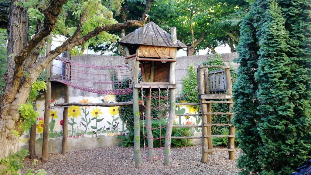 Spielplatz Chur in der Süsswinkelgasse
