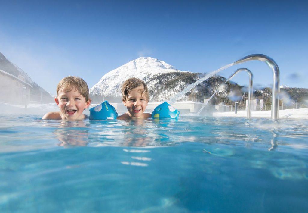 Familienbad in Graubünden - Bellavita Erlebnisbad