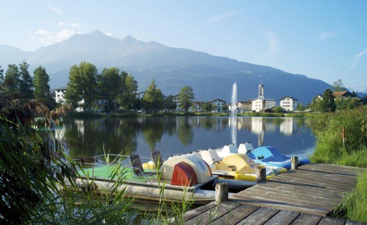 Badesee für Kinder in Graubünden – Laax