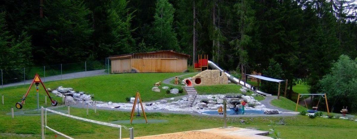 Wasserspielplatz Graubünden- Flims