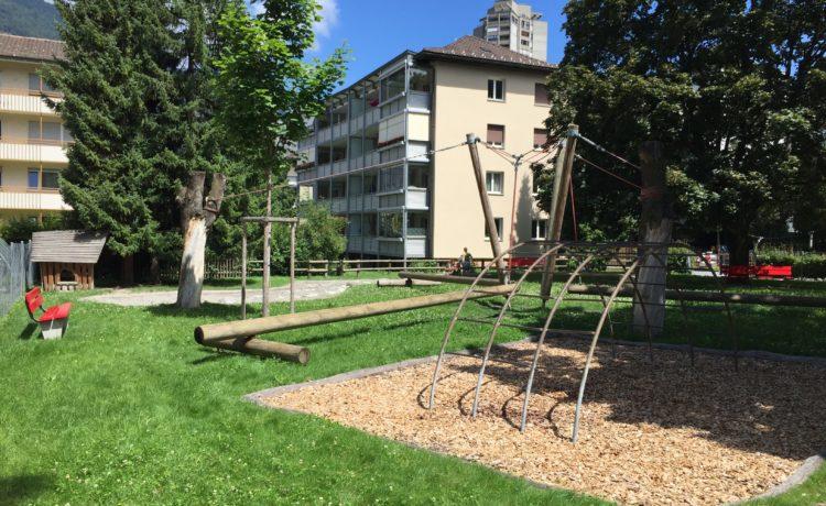 Beliebter Spielplatz in Graubünden – Chur