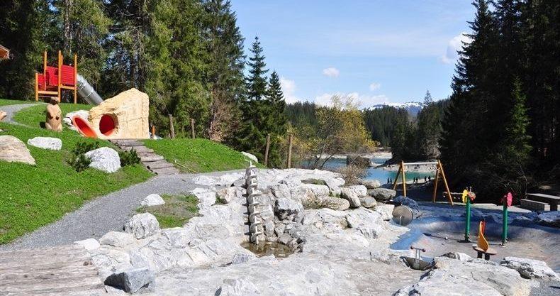 Wasserspielplatz Graubünden - Flims