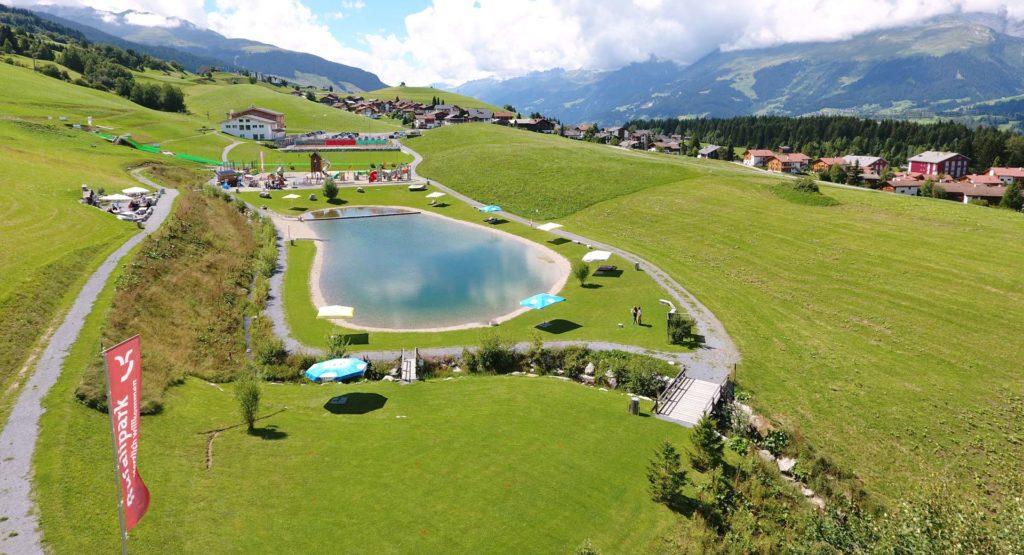 Kinderbadesee Graubünden - Rufalipark