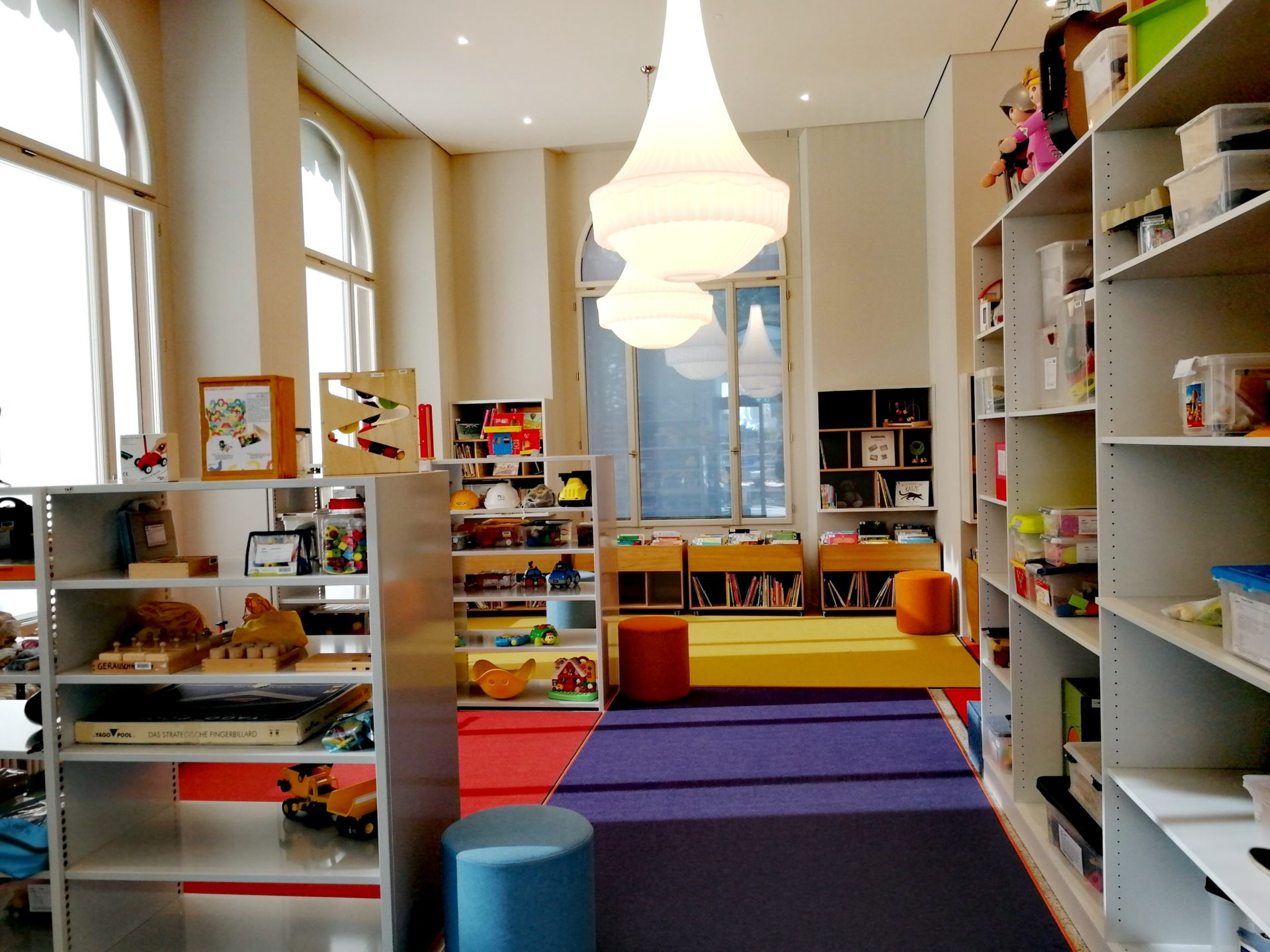 Kinderabteilung - Bibliothek Chur