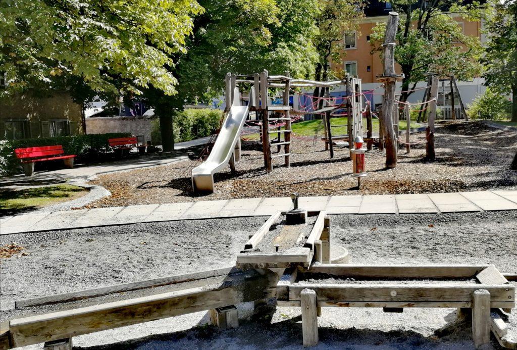 Holzspielplatz - altes Spital Chur
