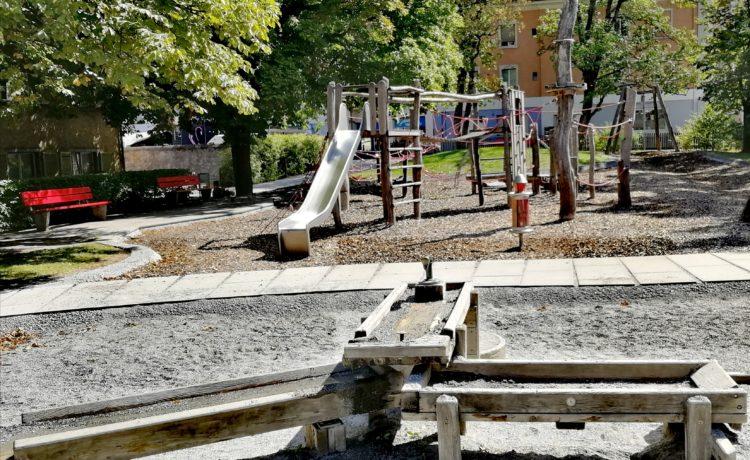 Holzspielplatz – Altes Spital Chur