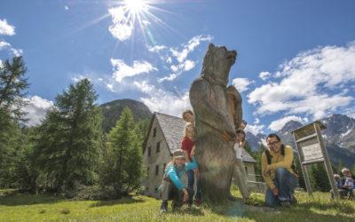 Erlebnisweg mit Bären- und Bergbaumuseum – S-charl