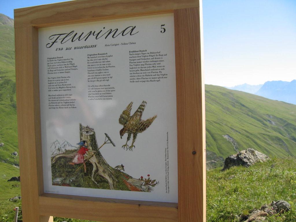 Flurina-Weg in Scuol